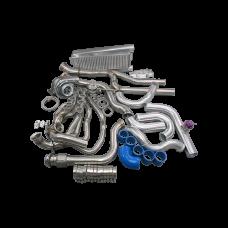 Turbo Kit Header Intercooler For 79-93 Mustang 5.0 T70 T4
