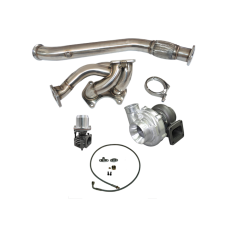 Top Mount Turbo Manifold Downpipe Kit For Mazda RX-7 FD 13B Engine RX7