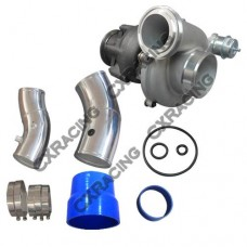 """Large GTP38 Turbo Charger Adjustable Vent + O-Rings 4"""" 5"""" Air Intake for Ford 7.3 PowerStroke"""