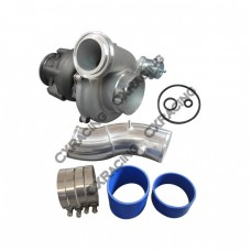 """Large GTP38 Turbo Charger + O-Rings 4"""" Air Intake Pipe for Ford Super Duty 7.3 PowerStroke"""