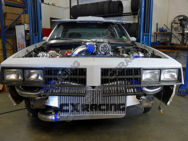 Twin Turbo Intercooler Piping Kit For G-Body LS1 LS Motor