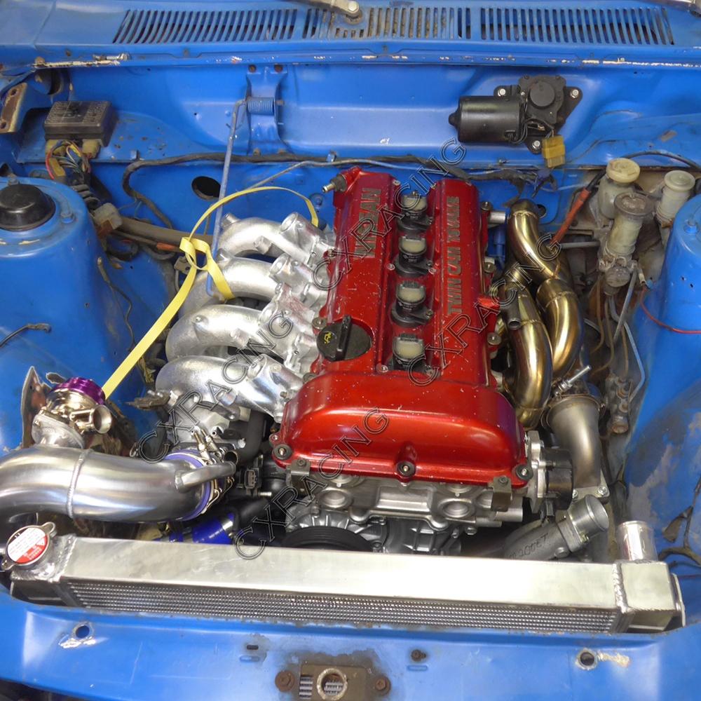 S13 SR20DET Intercooler Radiator Piping BOV Kit For Nissan