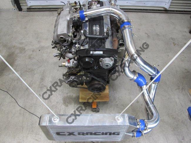 FRONT MOUNT Intercooler 25.5x11.25x3 same side For Optima Nissan