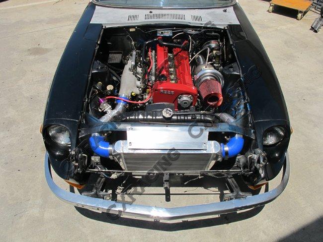 Front Mount Intercooler 27x11 75x3 For Lexus GS300 Toyota