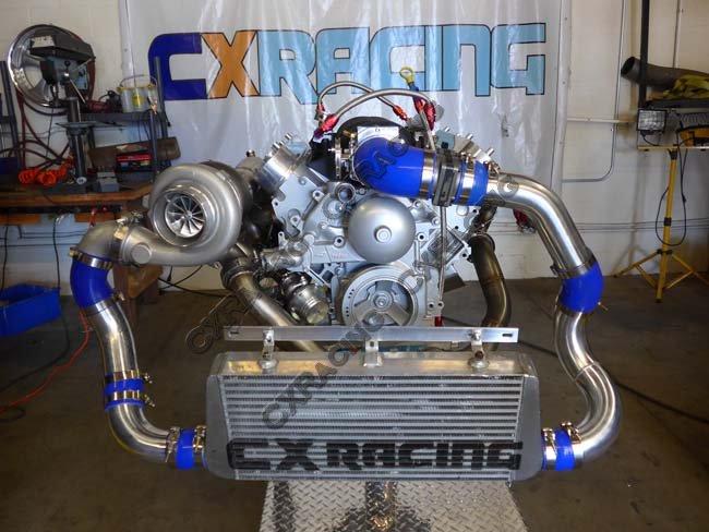 Universal Single Turbo Manifold Header For LS1 LSx Engine