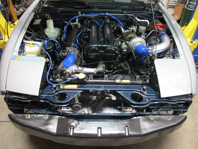 Turbo Manifold DownPipe Kit For Mazda Miata MX-5 1 8L NA-T